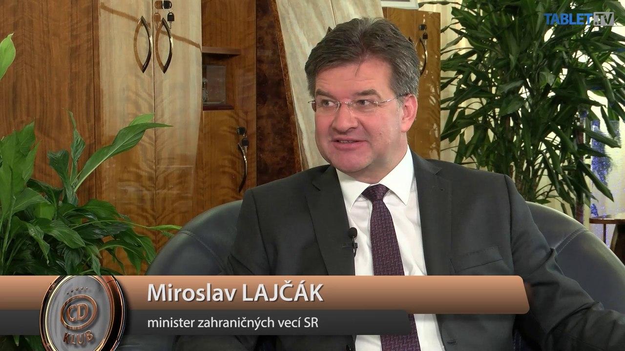 LAJČÁK exkluzívne pre TABLET.TV: Zahraničná politika je mojím koníčkom a chcem sa jej venovať aj v budúcnosti