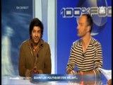Vikash Dhorasoo sur le plateau de l'émission 100% Foot (M6) le jeudi 24 juin 2010