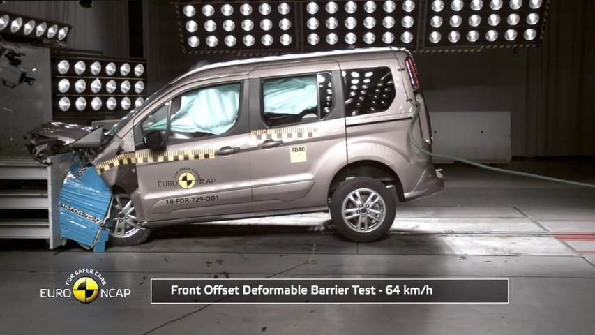 Ford Tourneo Connect Crash Tests 2018 Video Dailymotion