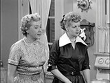 I Love Lucy S02E30 Ricky and fred are tv fans