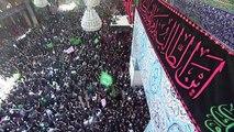 مئات آلاف الزوار الشيعة يحيون ذكرى عاشوراء في كربلاء