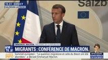"""Défi migratoire: Emmanuel Macron plaide pour """"un renforcement des frontières communes"""" de l'Union européenne"""