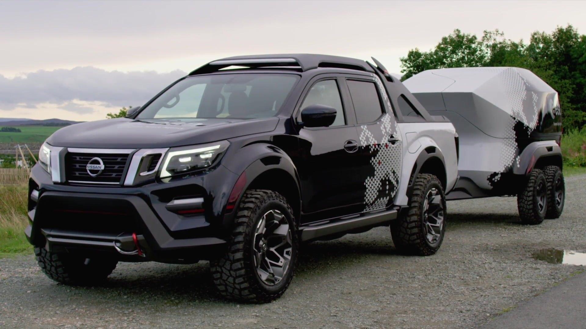 Nissan Navara Dark Sky Concept Video Dailymotion