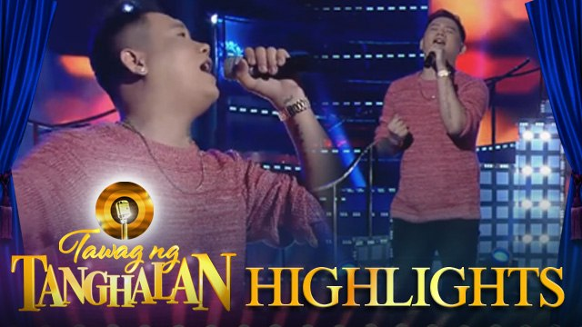 Tawag ng Tanghalan: Mark Michael Garcia performs Run To You on It's Showtime