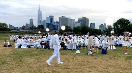 Le Dîner en Blanc remet le couvert à New York