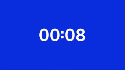 [TEST] 1 minute timer video