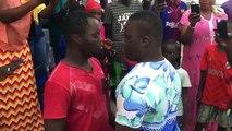 Combat Fallou Mongole vs Boy Sérére — Regardez les coups de Fallou