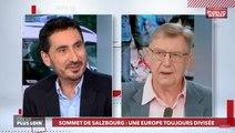 Sommet de Salzbourg : une Europe toujours divisée - On va plus loin (20/09/2018)