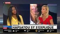 """Hapsatou Sy: """"Je demande que Eric Zemmour ne soit plus invité sur les plateaux télé tant qu'il ne s'est pas excusé(..) Je ne suis pas virée de C8."""""""