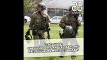 Etats-Unis: Une fusillade dans le Maryland fait plusieurs victimes et des blessés