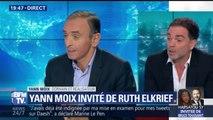 """""""Il faut dire à Éric Zemmour qu'il n'y a aucun rapport entre la France et le prénom Éric"""" estime Yann Moix"""