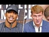 Anthony Joshua vs Alexander Povetkin FINAL PRESS CONFERENCE | Matchroom Boxing