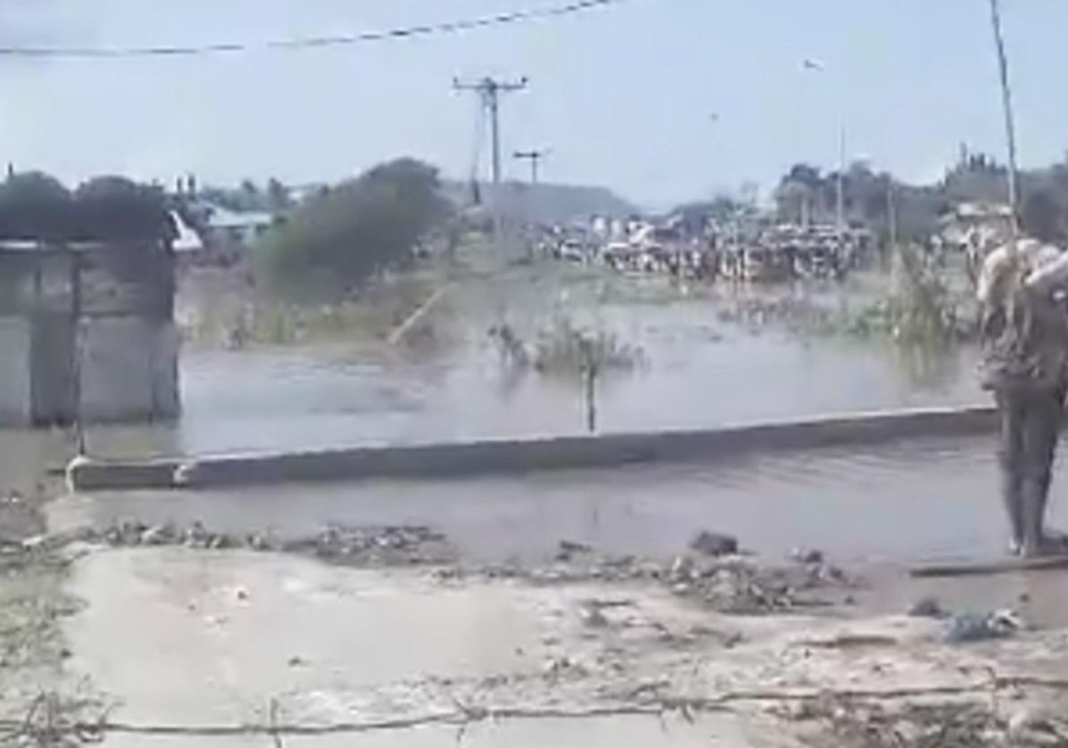 Muddy Waters Flood Nigerian Town of Lokoja
