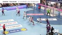Cesson Rennes -Toulouse, le résumé   J03 Lidl Starligue 18-19