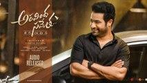 Aravinda Sametha Jukebox Surprises NTR Fans