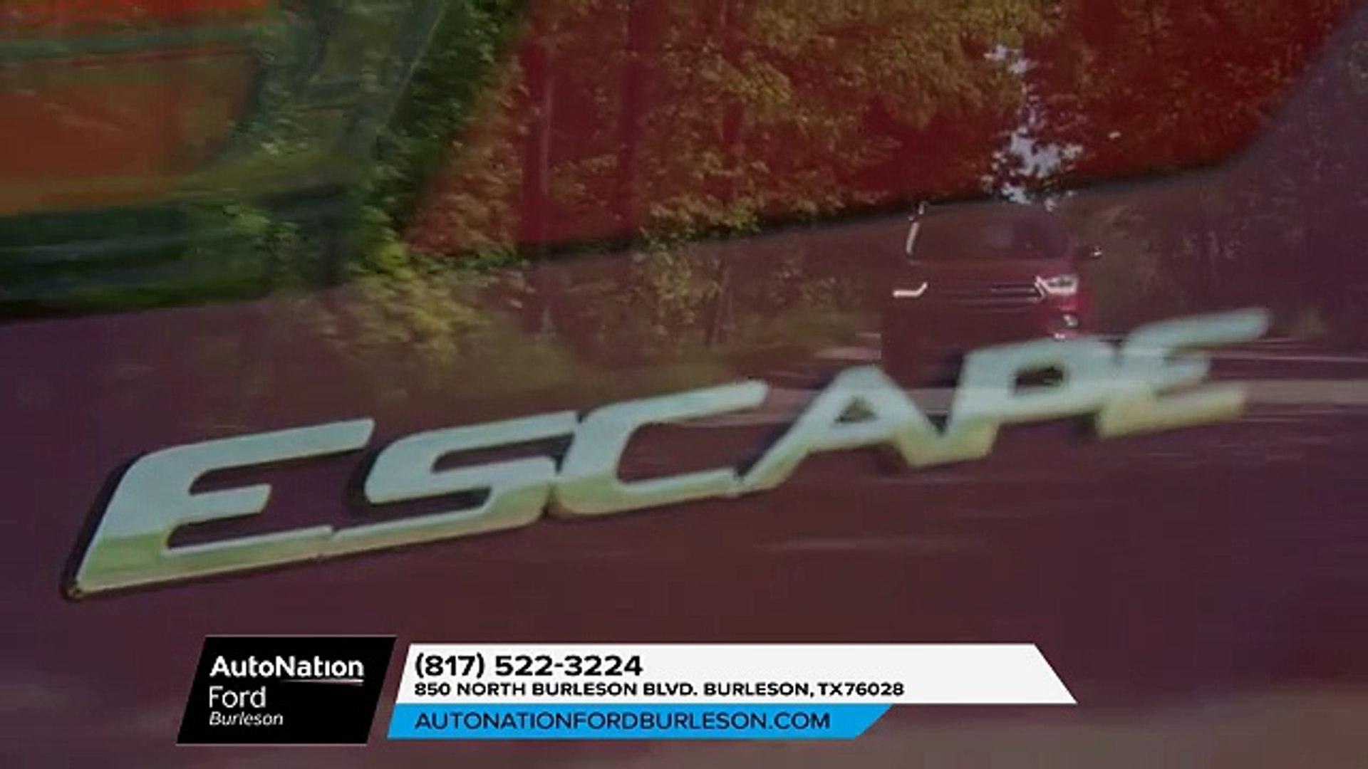 Autonation Ford Burleson >> 2018 Ford Escape Burleson Tx New Ford Escape Burleson Tx