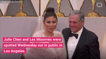 Julie Chen & Les Moonves Spotted Together After Her 'The Talk' Exit