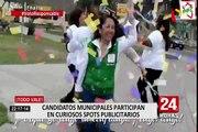 Candidatos municipales realizan peculiares spots para difundir sus campañas
