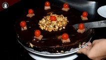 No Bake Chocolate Biscuit Cake - Without Oven Chocolate Cake Recipe by Kitchen With Amna