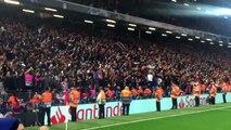 Chants PSG Fan's - Liverpool vs PSG
