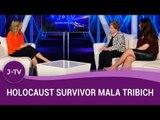 Holocaust survivor Mala Tribich with Karen Pollock (Holocaust Educational Trust Director)
