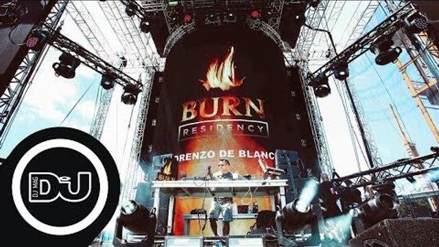 Lorenzo De Blanck Live from Kappa Futur Festival #BurnResidency
