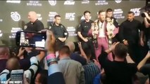 Conor McGregor and Khabib Roast Each Other at UFC 229 Press Conference, Dana White