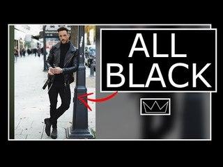 ALL BLACK: 15 maneiras de usar com estilo / MODA MASCULINA