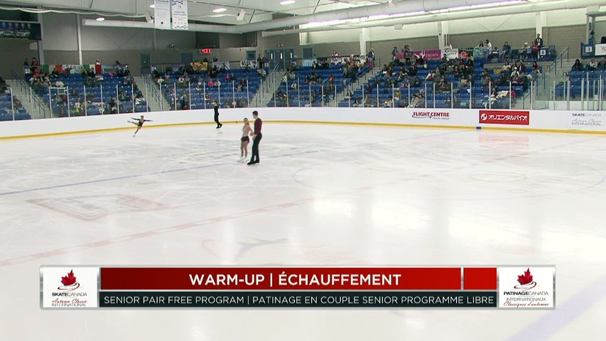 #ICA18: Patinage en couple programme libre
