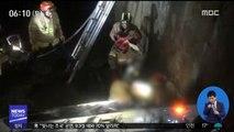 어선 '좌초' 2명 구조…나들목서 차량 추돌 外