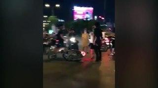 Va chạm giao thông thanh niên hổ báo cáo c