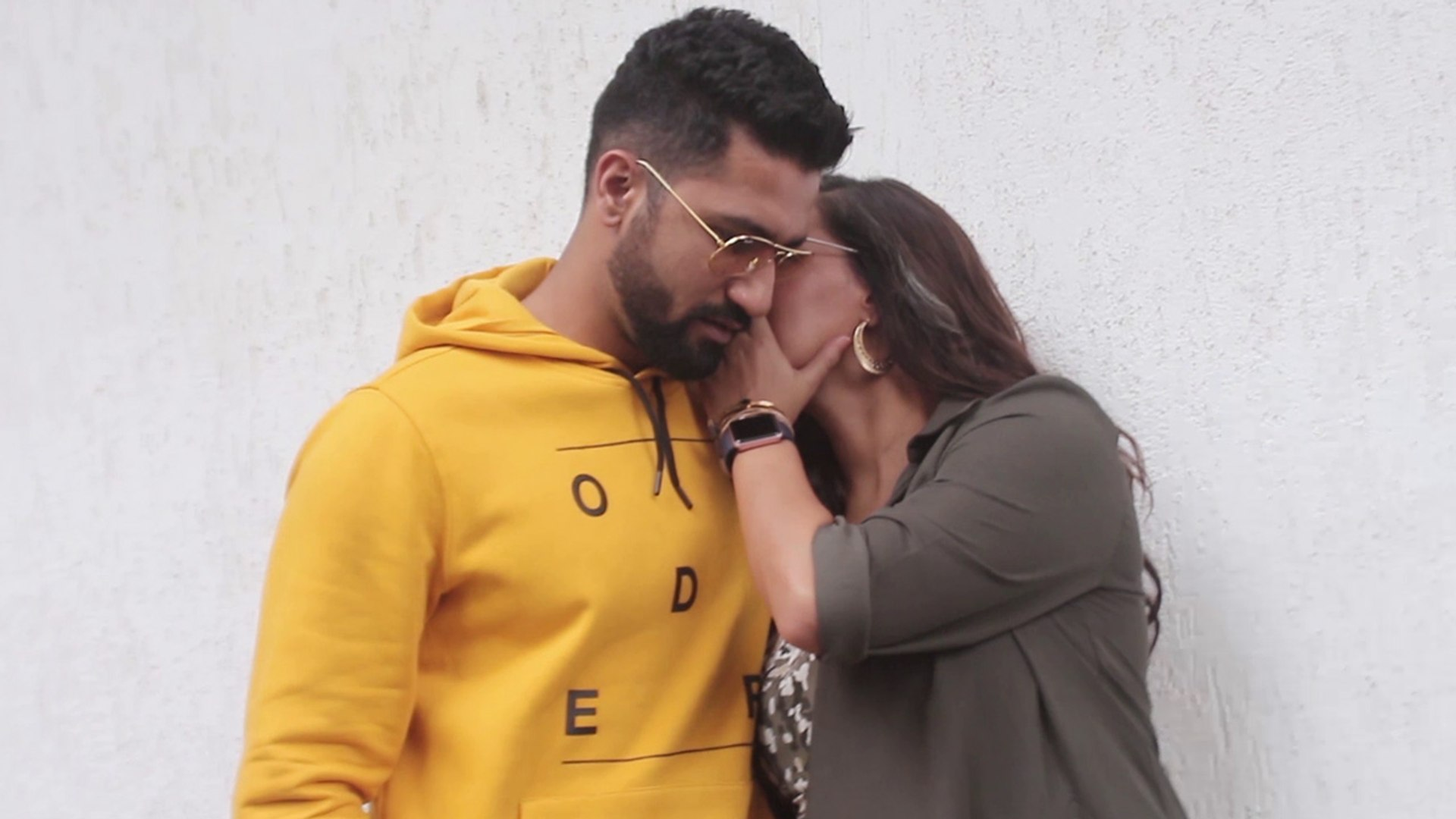 Neha Dhupia & Vicky Kaushal SPOTTED during the recording of No Filter Neha Season 3   FilmiBeat