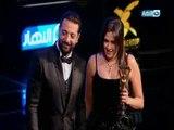 حفل تكريم وشوشة للأفضل في 2017   ياسمين عبد العزيز تحصد جائزة أفضل ممثلة كوميدية في 2017