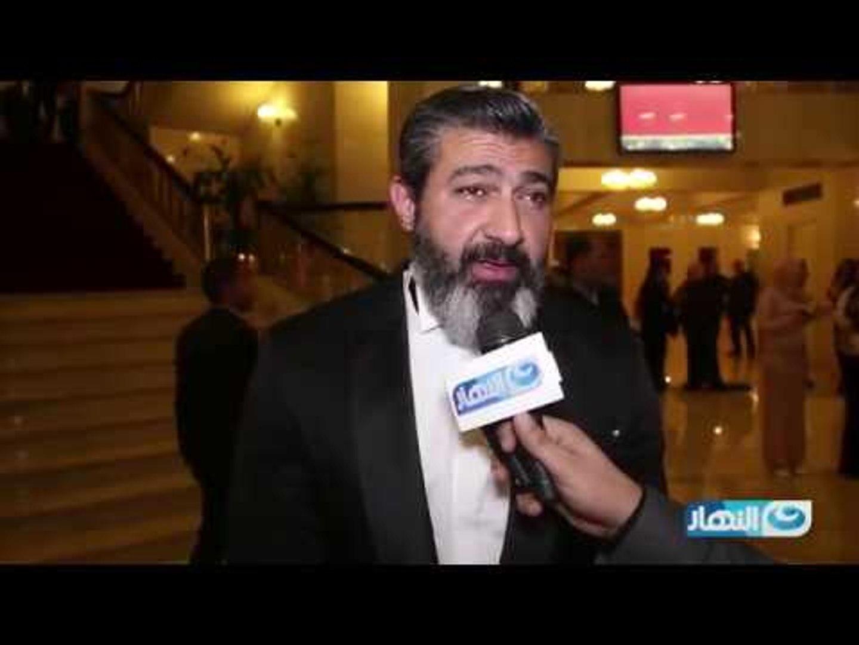 حفل وشوشة | ياسر جلال : قناه النهار وش السعد عليا فى نجاح مسلسل ظل الرئيس