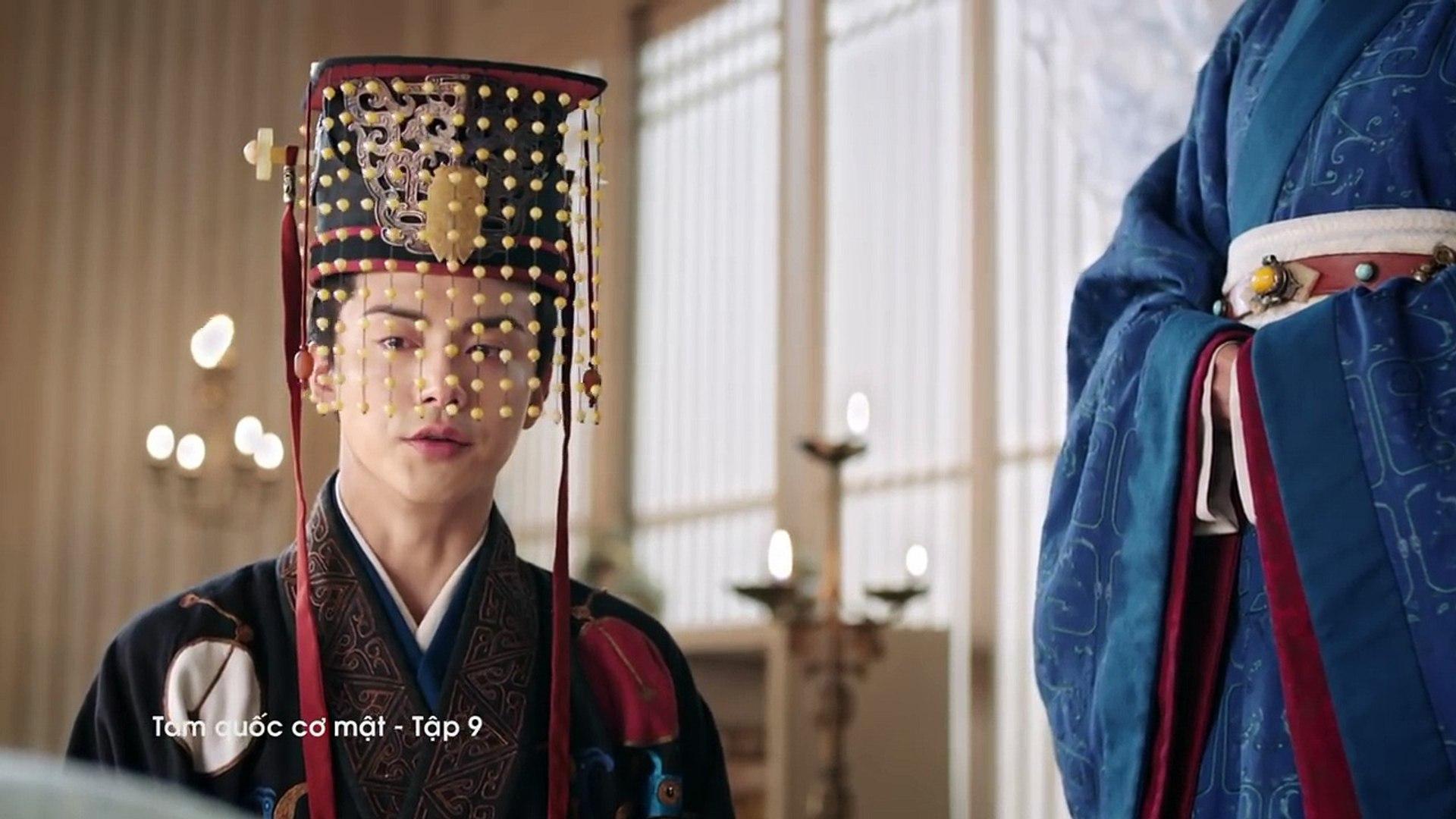TAM QUỐC CƠ MẬT - Tập 9 FULL   Phim cổ trang Trung Quốc lồng tiếng 2018 hay