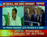 Surgical strikes on defence forces: Rahul Gandhi on Rafale deal, says Hollande's exposed PM Modi