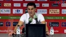 Gazélec Ajaccio 0-1 AS Nancy : la réaction de D. Tholot et d'A. Cartier