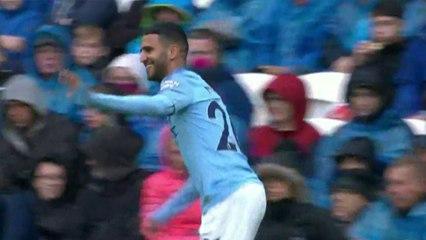Premier but de Mahrez avec Manchester City