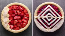 Have all your pies, and eat them, too!  Easy Pie Recipe Ideas ♡ Ayez toutes vos tartes et mangez-les aussi! | Idées de recettes à tarte facile ♡