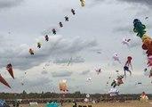 Dozens of Whimsical Kites Drift in the Skies Above Berlin During Drachenfest
