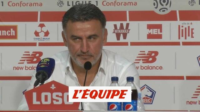 Galtier «Ce que je sais, c'est que Pépé sera là jusqu'au 22 décembre» - Foot - L1 - LOSC