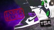 Air Jordan 1 Court Purple Retro Shoe Detailed Review + Sneaker Battle VS Pine Green