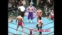 Kentaro Shiga/Yoshinari Ogawa vs Hayabusa/Yoshinobu Kanemaru (All Japan May 4th, 1997)