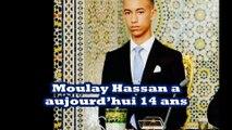 moulay hassan le futur roi du maroc . Le petit ou de chou est devenu un beau jeune homme