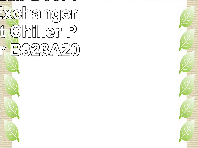 Fristaden Lab Beer Plate Heat Exchanger Plate Wort Chiller Plate Chiller B323A20