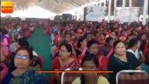 स्वास्थ्य बीमा योजना प्रधानमंत्री जन आरोग्य योजना (पीएमजेएवाई) का शुभारंभ करने रांची पहुंचे प्रधानमंत्री नरेंद्र मोदी