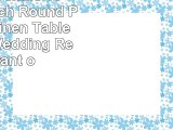 Ultimate Textile 10 Pack 120Inch Round Polyester Linen Tablecloth  for Wedding