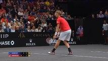 Laver Cup - Federer s'amuse, Djokovic dévisse