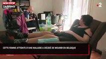 Euthanasie : Le témoignage poignant d'une trentenaire décidée à mourir en Belgique (vidéo)