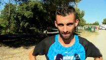 Les premiers coureurs à l'issue de la course de Cornillon-Confoux 2018